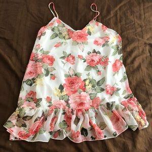 Paradise USA Rose Tunic/Mini Dress